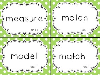1st Grade Science Content Vocabulary Word Cards
