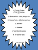 1st Grade Science Daily Review Pack