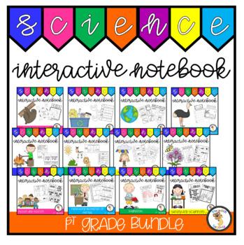 1st Grade Science Interactive Notebook