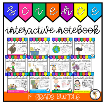 1st Grade Science Interactive Notebook