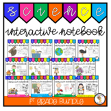 1st Grade Science Interactive Notebook Bundle