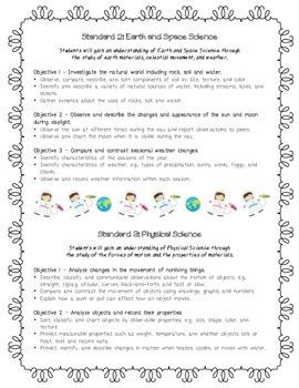 1st Grade Science Utah Core Standards