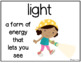 NGSS & Inspire Science Vocabulary & Word Wall Cards - 1st Grade