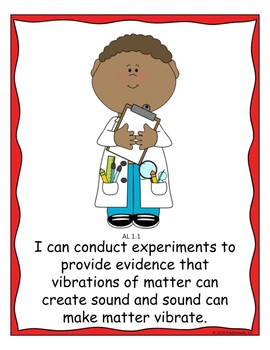 1st Grade Science Wall  Alabama Course of Study