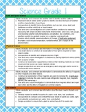 1st Grade Science and Social Studies Standards Reference