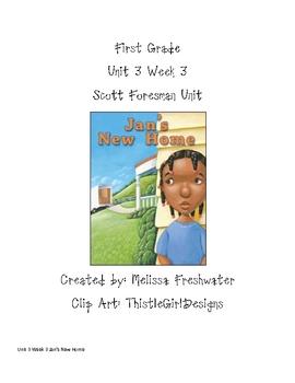 1st Grade Scott Foresman Activities Unit 3 Week 3