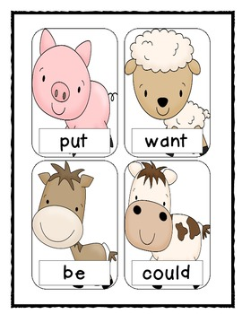 1st Grade Scott Foresman High-Frequency Word BANG! {The Complete Set}