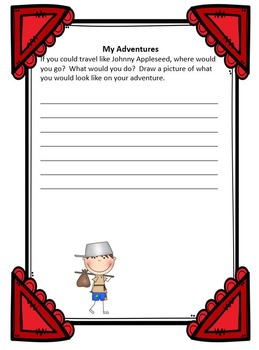 Johnny Appleseed Lesson Plans & Literary Unit