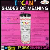 1st Grade Shades of Meaning Game