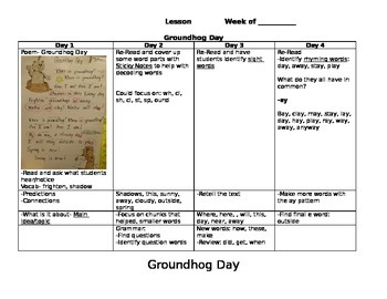 1st Grade Shared Reading Pack