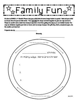 1st Grade Shines in Many Ways