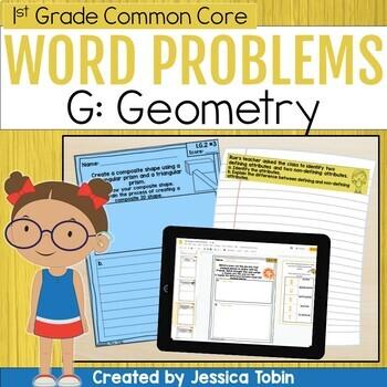 Geometry- 1st Grade Math Short Answer Writing