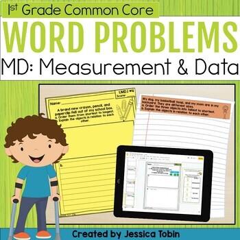 Measurement and Data- 1st Grade Math Short Answer