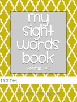 1st Grade Sight Word Activity Book