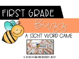 1st Grade Sight Word BUZZ