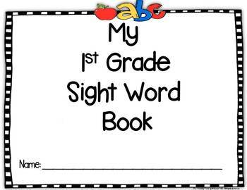 1st Grade Sight Word Book