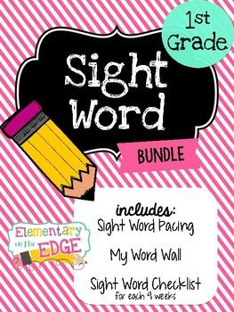 1st Grade Sight Word Bundle