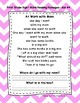 1st Grade Sight Word Fluency Passages with Comprehension Questions Sets 1-10