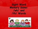 1st Grade Sight Word Memory Game