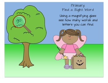 1st Grade Sight Word October Halloween Word Search