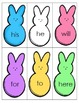 FREE First Grade Sight Words  Easter Peeps Reading Center Game