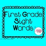 1st Grade Sight Word PowerPoint