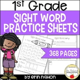 1st Grade Sight Word Practice Sheets {for 184 high-frequency words}