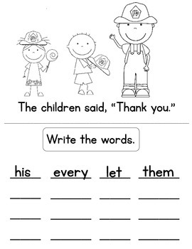 Prek-1st Grade Sight Word Readers,Activities,Homework with Dolch 1st Grade Words