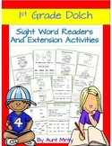 Prek-1st Grade Sight Word Readers,Activities,Homework with