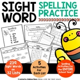 Sight Word Practice for the ENTIRE Year