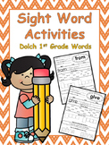 1st Grade Sight Word Worksheets