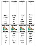 1st Grade Sight Word Wristband