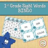 1st Grade Sight Words Bingo Winter