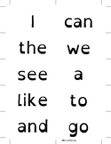 1st Grade Sight Words For Students with Dyslexia