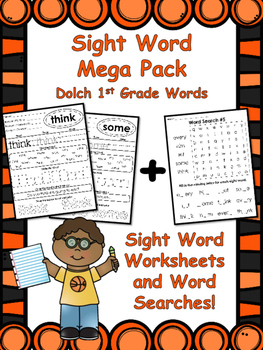 1st Grade Sight Words Mega Pack