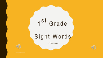 1st Grade Sight Words Practice Center ELL RTI GEI  Interve
