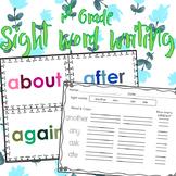 1st Grade Sight Words Writing Practice BUNDLE