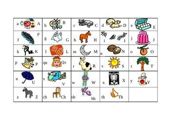 1st Grade - Single Letter Phonics