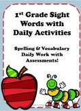 1st Grade Sight Words Activity Packet