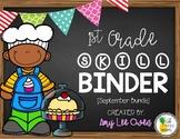 1st Grade Skill Binder [The Baking Edition]