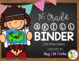 1st Grade Skill Binder [The Pirate Edition]