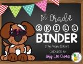 1st Grade Skill Binder [The Puppy Edition]