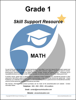 1st Grade - Skill Support Resource Packet