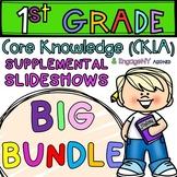 1st Grade Skills PowerPoints ALL units, BIG BUNDLE! (ALIGN