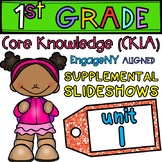 1st Grade Skills PowerPoints, Unit 1 (ALIGNED to EngageNY