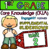1st Grade Skills PowerPoints, Unit 2 (ALIGNED to EngageNY CKLA) Lessons 1-19