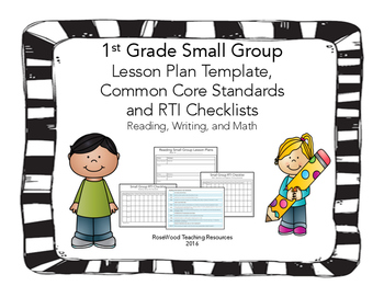 1st Grade Small Group Pack