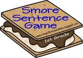 1st Grade Smore Sentence Game