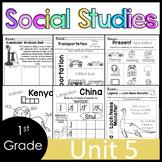 1st Grade - Social Studies - Unit 5 - Culture, Folktales, Then/Now