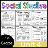 1st Grade - Socia Studies - Unit 6 - Economics, Goods/Services, Wants/Needs